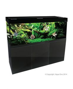Aqua One Brilliance 180 Black Aquarium Set