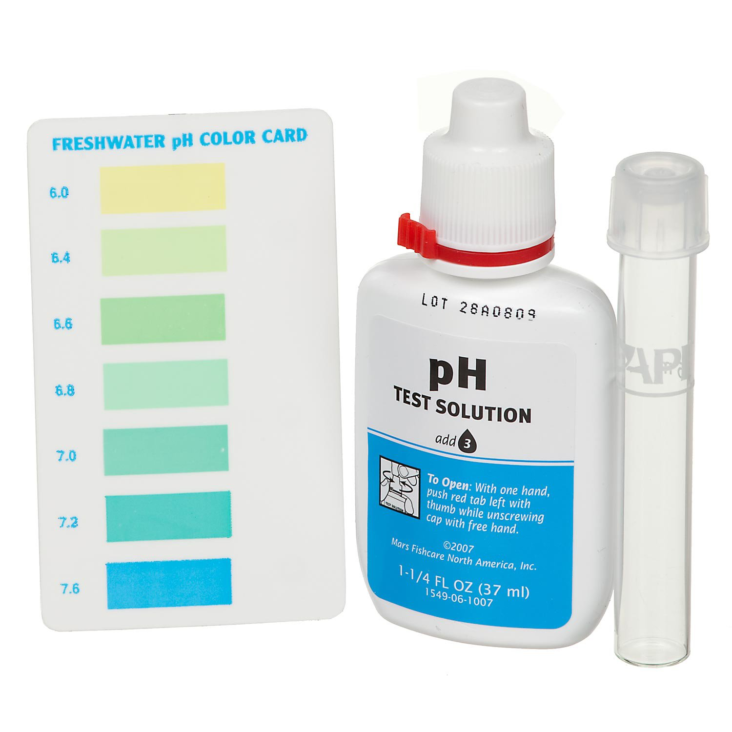 aqua one ph test kit instructions